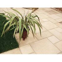Marshalls Firedstone Textured Fired York 600 x 600 x 38mm Paving Slab - Pack of 22