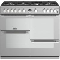 Stoves Sterling S1000G 100cm Gas Range Cooker with Electric Grill - Stainless Steel - A/A/A+ Rated