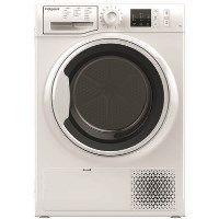 HOTPOINT NTM1081WK 8kg Freestanding Condenser Tumble Dryer With Heat Pump Tech - White