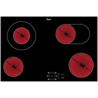 Whirlpool AKT8360LX 77cm 4 Zone Ceramic Hob - STAINLESS STEEL