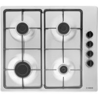 Bosch Serie 2 PBP6B5B60 58cm Gas Hob - Brushed Steel