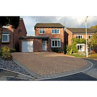 Marshalls Driveway Block Paving - Bracken 200 x 100 x 50mm Pack of 488