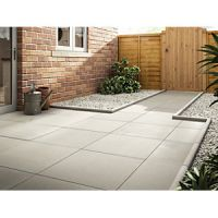 Marshalls Richmond Smooth Natural 600 x 600 x 38 mm Paving Slab
