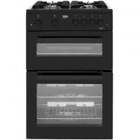 Beko KDG611K Gas Cooker with Full Width Gas Grill - Black - A+/A Rated
