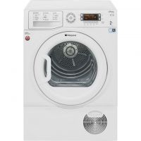 Hotpoint Ultima S-Line SUTCD97B6PM 9Kg Condenser Tumble Dryer - White - B Rated