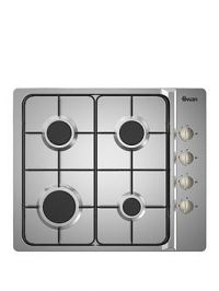 Swan Sxb7030Ss 60Cm Built-In Gas Hob With Fsd - Stainless Steel