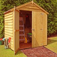 Shire Shire 4' x 6' Overlap Double Door Shed