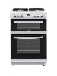 Swan Sx15862W 60Cm Double Gas Cooker - White