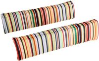 Halfords Striped Memory Foam Seat Belt Pads