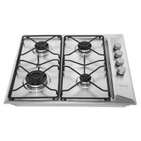 Hotpoint PAN642IXH 60cm Gas Hob in Stainless Steel FSD
