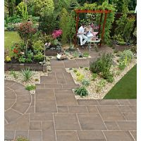 Marshalls Heritage Riven Weathered Yorkstone 300 x 300 x 38 mm - 3.96m2 pack
