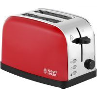 Russell Hobbs Dorchester 18781 2 Slice Toaster - Red