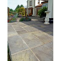 Marshalls Heritage Riven Old Yorkstone 300 x 300 x 38mm Paving Slab - Pack of 44