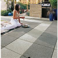 Marshalls Argent Coarse Dark Grey 400 x 400 x 38mm Paving Slab