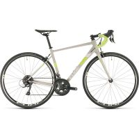 Cube Axial WS Womens Road Bike 2020 - Lightgrey - Green - 56cm (22