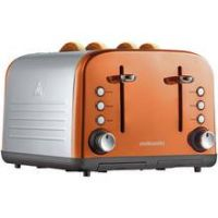 Cookworks 4 Slice Toaster - Copper