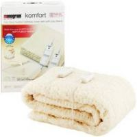 Monogram Komfort Dual Control Heated Mattress Cover - Double