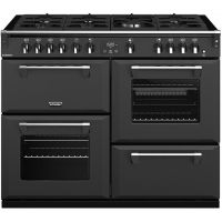 Stoves Richmond S1100G 110cm Gas Range Cooker with Electric Grill - Anthracite - A/A/A Rated