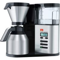 Melitta AromaElegance® Therm Deluxe 6759688 Filter Coffee Machine with Timer - Stainless Steel