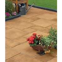 Marshalls Firedstone Sunrise Paving Slab Mixed Size - 5 m2 pack