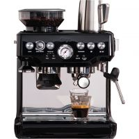 Sage The Barista Express BES875BKS Espresso Coffee Machine with Integrated Burr Grinder - Black
