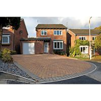 Marshalls Driveway Block Paving Pack - Sunrise 200 x 100 x 50mm Pack of 488