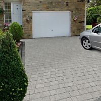 Marshalls Argent Priora Driveway Textured Block Paving Pack Mixed Size - Light Silver 8.06 m2