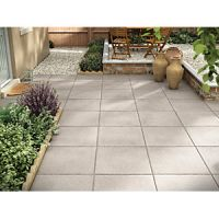 Marshalls Textured Charcoal 600 x 600 x 35mm Paving Slab