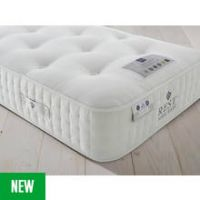 Rest Assured Naturals Pocket Sprung Single Mattress - Softer