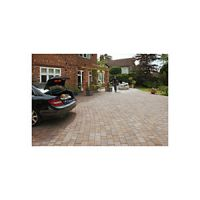 Marshalls Tegula Driveway Block Paving Pack Mixed Size - Harvest 9.73 m2