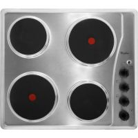 Whirlpool AKM332/IX 58cm Solid Plate Hob - Stainless Steel
