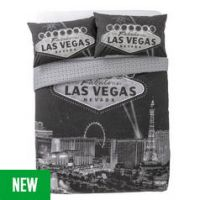 Argos Home Las Vegas Bedding Set - Double