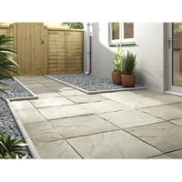 Marshalls Pendle Riven Grey 600 x 600 x 38 mm Paving Slab