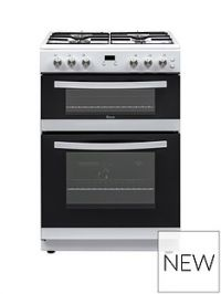 Swan SX15890W 60CM TWIN GAS COOKER WHITE