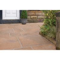 Marshalls Firedstone Autumn Paving Slab Mixed Size - 5 m2 pack