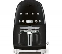 SMEG 50's Retro DCF02BLUK Filter Coffee Machine - Black, Black