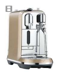 Nespresso The Creatista Coffee Machine by Sage - Royal Champagne