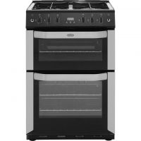 Belling FSG60TC Gas Cooker with Gas Grill - Stainless Steel - A Rated