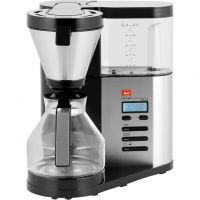 Melitta AromaElegance® Deluxe 6759689 Filter Coffee Machine with Timer - Stainless Steel