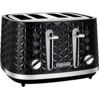 Morphy Richards Vector 248131 4 Slice Toaster - Black