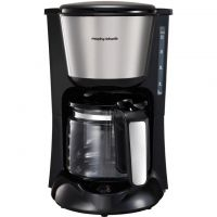 Morphy Richards Equip 162501 Filter Coffee Machine - Black / Brushed Steel