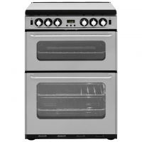 Newworld Newhome 600TSIDOM 60cm Gas Cooker with Electric Grill - Silver - A/A Rated