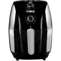 Tower 1.5L Manual Air Fryer T17025 Air Fryer - Black