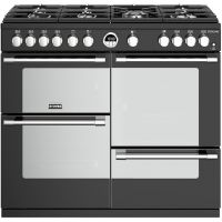 Stoves Sterling S1000G 100cm Gas Range Cooker with Electric Grill - Black - A/A/A+ Rated