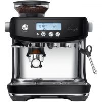 Sage The Barista Pro SES878BTR Espresso Coffee Machine with Integrated Burr Grinder - Black Truffle