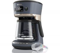 Mostra Easy Measure VCF114 Filter Coffee Machine - Grey, Grey