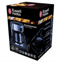 Russell Hobbs 20680 Buckingham Filter Coffee Machine with Timer in St