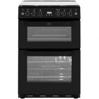 Belling FSG60DOP Gas Cooker with Electric Grill - Black - A/A Rated