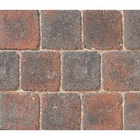 Marshalls Drivesett Deco Textured Block Mixed Size Paving Driveway Pack - Cinder 10.367 m2