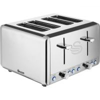 Swan Classic ST14064N 4 Slice Toaster - Polished Stainless Steel